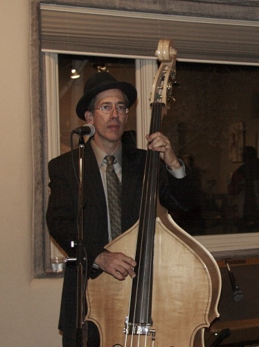 Big Swing Theory Upright Bass Player