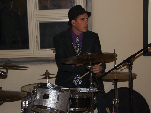 Big Swing Theory Drummer