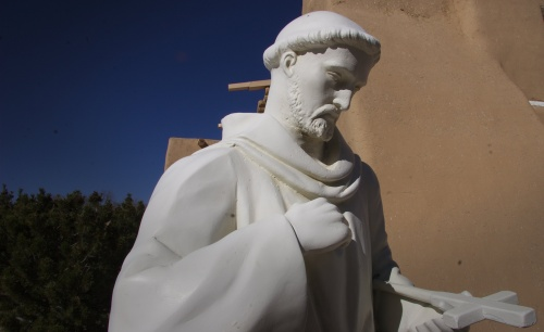 St. Francis de Assis sculpture